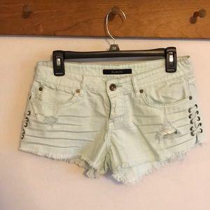 Billabong distressed shorts